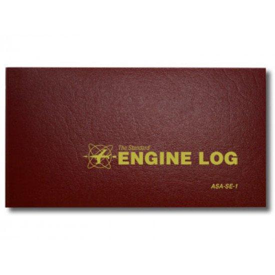 Книга учёта ТО двигателя ВС Engine Log Softcover