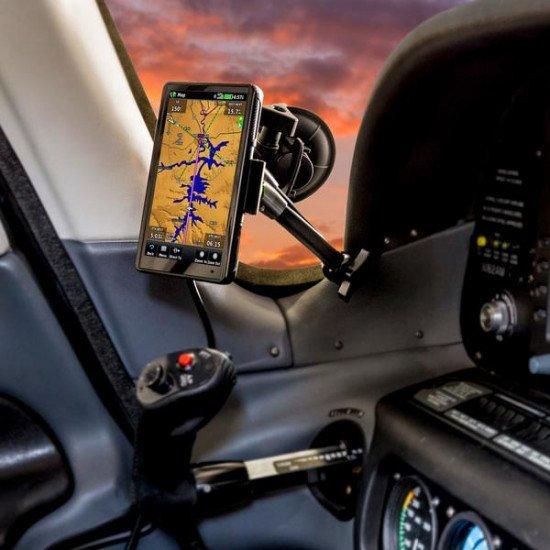 Крепление в кабину авиационное My Go Flight Sport Mount Flex Suction с присоской