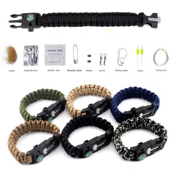 Браслет для выживания Paracord Survival Kit