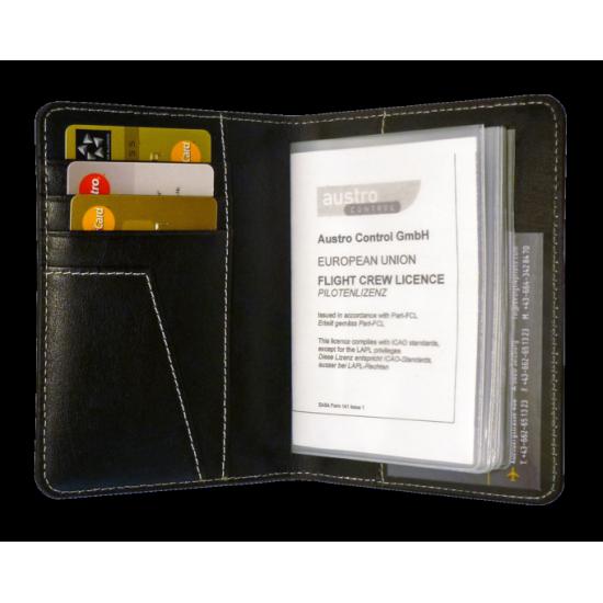 Обложка для лицензий и документов авиационная DESIGN 4 PILOTS PILOT LICENCE EASA
