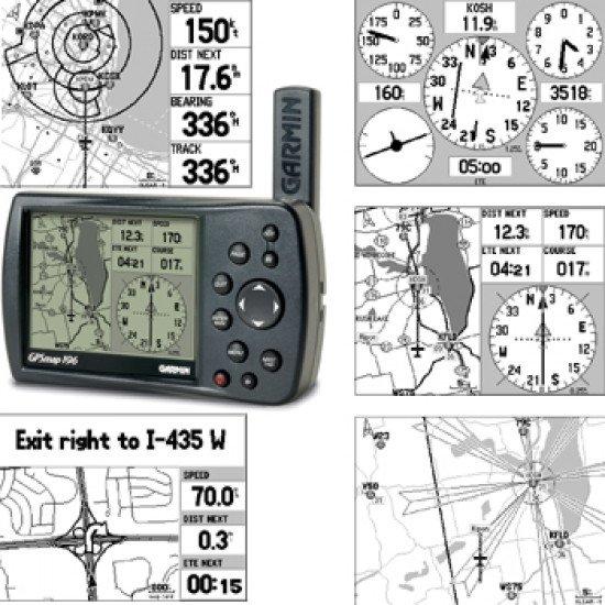GPS-навигатор авиационный Garmin 196