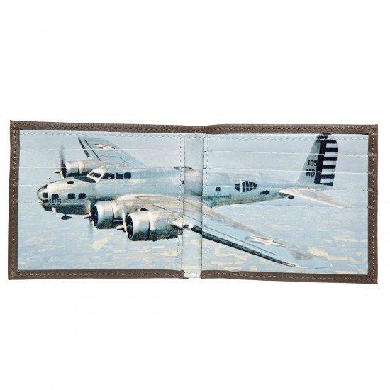 Кошелек авиационный Boeing B-17 кожаный