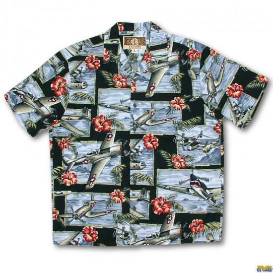 Air Fortress Aloha Shirt
