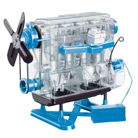 Игрушка, двигатель, Smithsonian Combustion Engine Model Kit