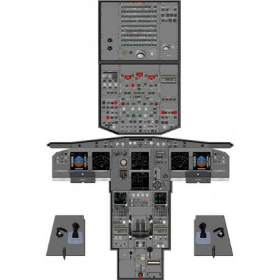 Кабина Airbus A319/320/321 cockpit poste
