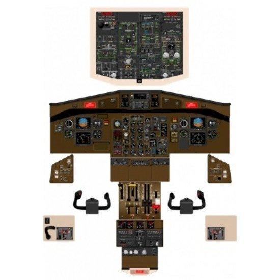 Кабина ATR 42 Cockpit Poster