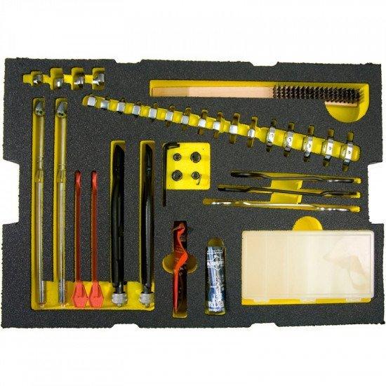 Комплект инструментов для обслуживания авиационного блока