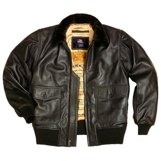 Куртка авиационная US WINGS Gold Goatskin G-1 мужская