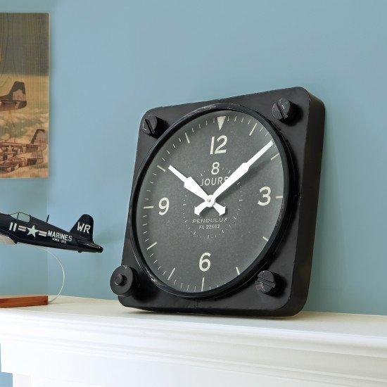 Часы Giant Altimeter Wall Clock