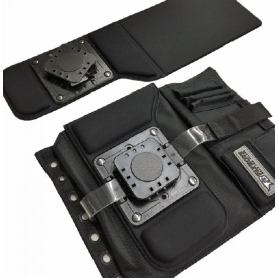 Наколенный планшет летчика Low Profile Kneeboard Adapter and Black Kneeboard Combo