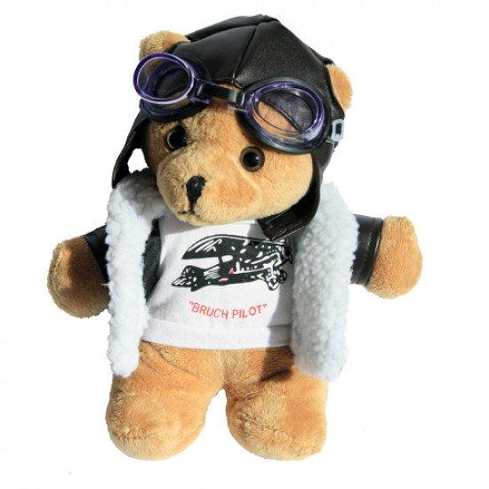 """Мягкая игрушка """"Медведь Пилот"""" Bruch Pilot"""