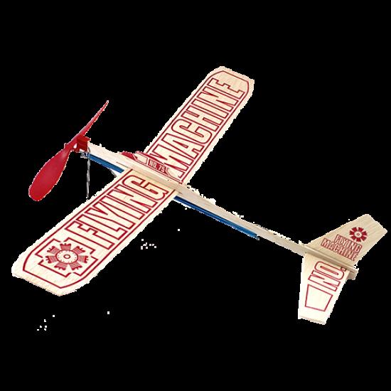 """Резиномоторный самолет """"Flying Machinе"""""""