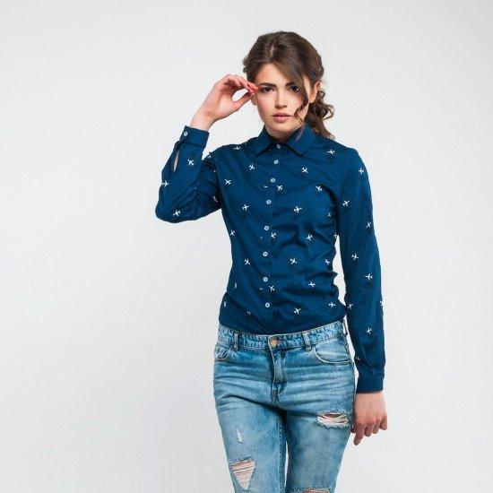 Рубашка авиационная Agent's Clothes женская