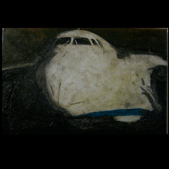 """Картина авиационная Ан-124 """"Руслан"""""""