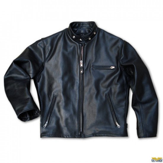 Куртка авиационная US WINGS Schott® Classic Racer 141 Motorcycle Jacket мужская