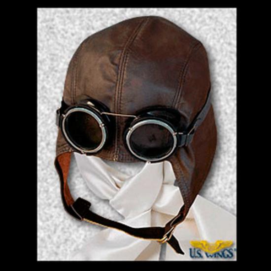 Очки авиационные US WINGS Snoopy Goggles винтажные