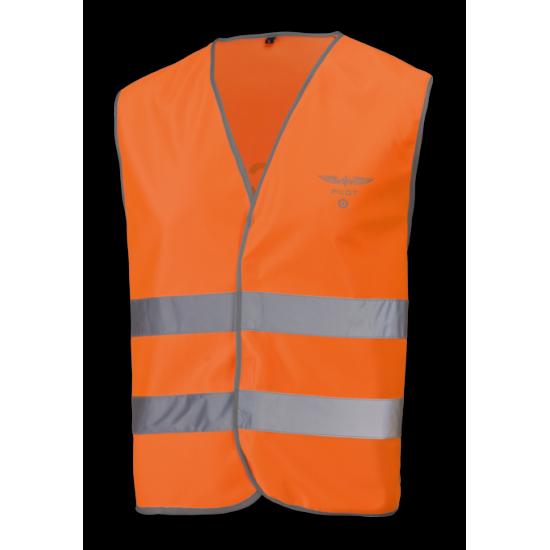 Жилет светоотражающий авиационный P.W. AIR CREW оранжевый